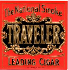 シガーボックス ヴィンテージラベル/TRAVELER 角型:Cigar Box Guitar【送料無料】