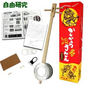 自由研究 小学生 キット♪ カンカラ三線(三味線)手作りキット