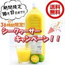 送料無料 ノビレチン 豊富な 沖縄県産100% シークヮーサー 果汁2L 沖縄県産 業務用「只今注文が殺到しており、発送は11月頃になります」