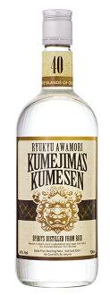 Awamori KUMEJIMA's KUMESEN 40 40 720 ml co., Ltd. Kume Island Kume Sen / Okinawan shochu / Okinawa liquor / Ryukyu awamori