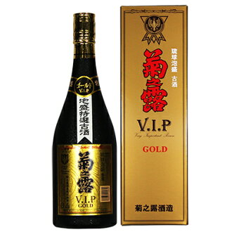 Awamori Kiku no dew VIP Gold 8 years old wine 720 ml 30 degrees x 6 dew / 8-year-old kusu / Chrysanthemum / chrysanthemum, dew still / popular awamori and Okinawa shochu / Okinawa liquor / Ryukyuan awamori