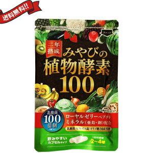【ポイント6倍】最大33倍!二年熟成 みやびの植物酵素100 60粒