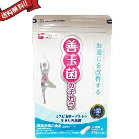 カスピ海ヨーグルトの乳酸菌サプリ フジッコ 善玉菌のチカラ 31粒 3袋セット
