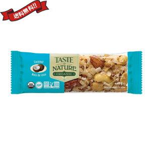 【11%OFFクーポン】【ポイント最大20倍】オーガニックフルーツ&ナッツバーココナッツ 40g Taste of Nature