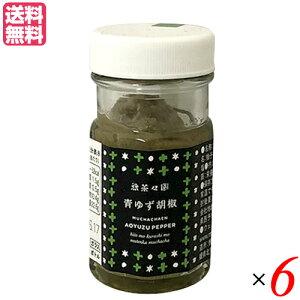 【ポイント2倍】柚子胡椒 ゆずこしょう ゆず胡椒 無茶々園 青ゆずこしょう 50g 6個セット 送料無料