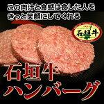 【石垣牛】ハンバーグ[100g×4枚](贈答用お中元ギフト)02P9Nov12