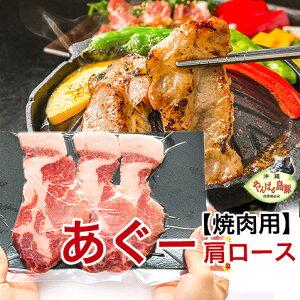 あぐー豚 アグー豚 豚肉 沖縄 ギフト 肩ロース スライス 焼肉セット 【1000g 4〜5人前/100g×10個】