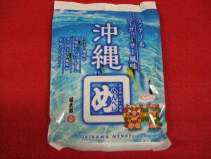 沖縄めんべい(2枚×2袋)ラフテー風味&シークヮーサー入り
