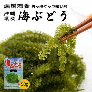 海ぶどう(南国酒肴)塩水 1箱 50g クベレヅタ 沖縄県産 お土産