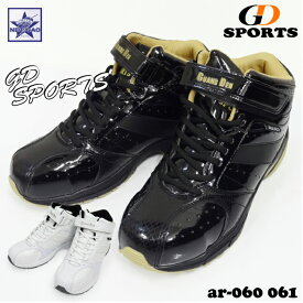 安全靴 作業靴 GD SPORTS ar-060 ar-061 JSAA B種認定 鋼製先芯入り ハイカット セーフティシューズ 軽作業 運転 運送業務 倉庫管理 工場・室内作業 ジーデージャパン GD JAPAN エナメル加工