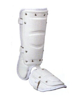 供支持供擊球員使用的脚保護腿保護高中棒球的左擊球員使用的白kubota slugger SFG30R
