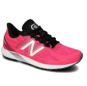 【あす楽対応】 ニューバランス ランニングシューズ レディース ジョギング マラソン 市民ランナー 耐久性 24.0cm ピンク ハンゾーT whanztm4d 送料無料