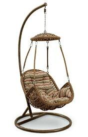 ハンギングチェア たまご型 エッグ型 一人掛けソファ チェア ハンモック 吊り椅子 揺れるチェア アジアン スタンド式