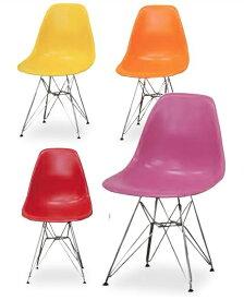 ダイニングチェア イームズチェア スチール脚 チェア イス 椅子 デザインチェア