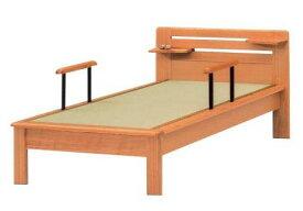 ベッド シングル 畳ベッド ベッド 木製 たたみベッド シングルベッド たたみベッド ナチュラル (手すり・ベッドシェルフ別売りです。)