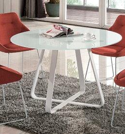 丸テーブル ガラスダイニングテーブル ダイニングリビングテーブル 机  強化ガラス 北欧 シンプル モダン おしゃれ デザイナーカフェ風 丸テーブル(テーブルのみ)