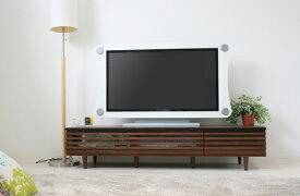 テレビボード 幅150 日本製 完成品 スライド 低い ロータイプ ルーバー おしゃれ シンプル モダン TV台 TVボード リビング