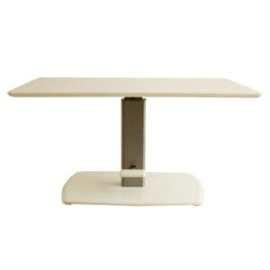 昇降式テーブル 昇降テーブル 幅120cm リフティングテーブル ホワイト 白リビングテーブル ダイニングテーブル 多目的テーブル 作業台グレー 北欧 モダン 木製 おしゃれ 人気