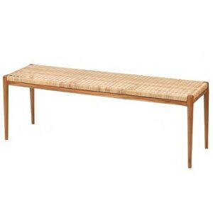 ダイニングベンチ ダイニングチェア 幅125cm ラタン 籐 ダイニング ベンチ 長椅子 チェア 食卓椅子 シンプル モダン おしゃれ 北欧 人気