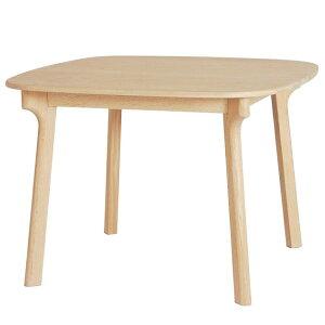 ダイニングテーブル テーブルのみ 幅100cm 4本脚 天然木 オーク材 正方形 テーブル ナチュラル 北欧 木製 家具 Fjord フィヨルド おしゃれ 人気