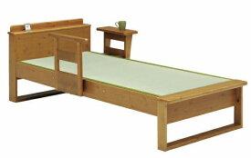 ベッド ダブル フレーム 畳ベッド 日本製 タタミベッド パイン スノコ床板 アシスト