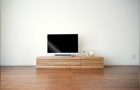 テレビ台 テレビボード ローボード エルバ チェリー 幅150 国産 木製 ルーバー チェリー/テレビボード150 テレビボードのみ、ボックスは別売りです。