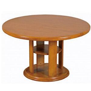 ダイニングテーブル 丸テーブル 幅120cm 木製 ライトブラウン 食卓テーブル 円形 丸型 KS 北欧(テーブルのみ)おしゃれ 人気
