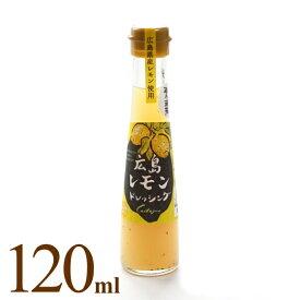 【ノンオイルドレッシング】【広島レモン】カスターニャ・広島レモンドレッシング・120ml海人の藻塩使用 ノンオイル サラダ 産直