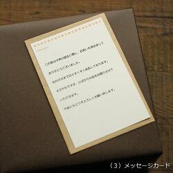 ギフト用メッセージカード(はがきサイズ)・1枚