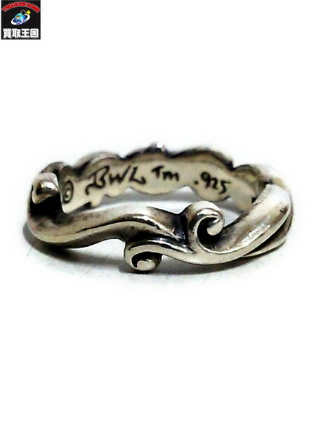 BILL WALL LEATHER thin wave ring #21【中古】[値下]