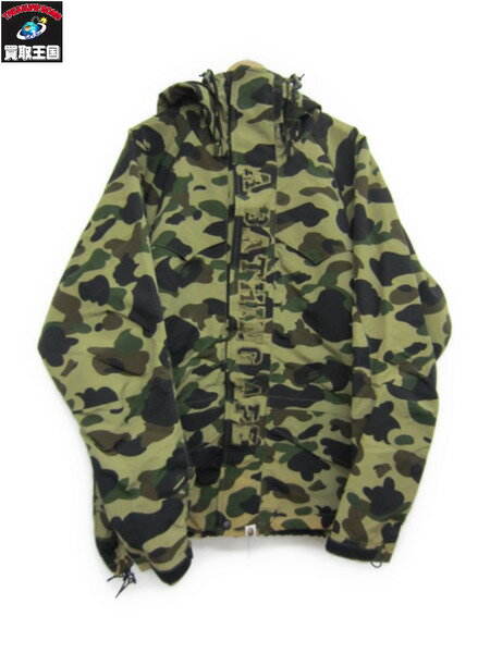 A BATHING APE カモ ナイロンパーカー XL【中古】[▼]