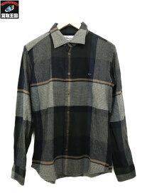Vivienne Westwood チャックシャツ (46) グレー【中古】