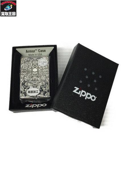 ZIPPO/グロテスクスカル/両面加工【中古】