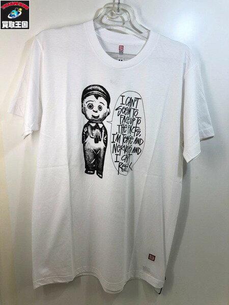 新品 S/DOUBLE (SIZE/M) S/S T-Shirts【中古】[▼]