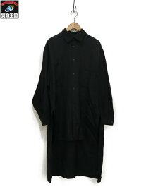 Yohji Yamamoto POUR HOMME 18SS Cupro Staff Shirt (3)【中古】