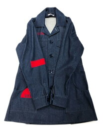 J.W.Anderson SPACE DENIM COAT インディゴ SIZE:36【中古】