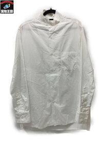 Yohji Yamamoto POUR HOMME カットオフシャツ 3 白【中古】
