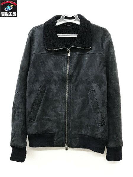 Drome ドローム スウェードジャケット size:M NAVY ネイビー【中古】