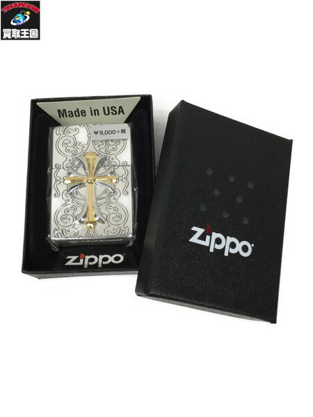 ZIPPO クロスコンビメタル3【中古】