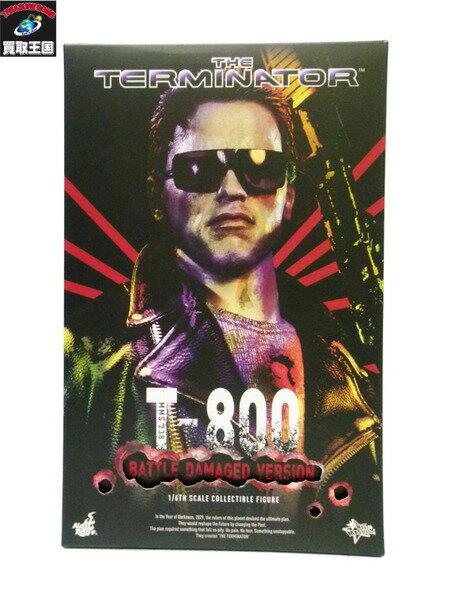 HOTTOYS T-800 バトルダメージver 1/6 ターミネーター ホットトイズ 未使用【中古】