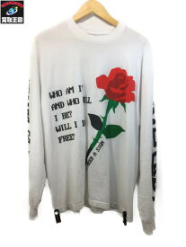 KID CUDI x cpfm Rose Golden L/S Tee (L) WHT【中古】