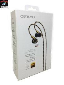 オンキョー ONKYO ハイブリット方式インナーイヤーヘッドホン E900M【中古】