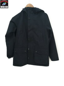 Barbour SL BEDALE HOOD CASUAL ネイビー 34【中古】