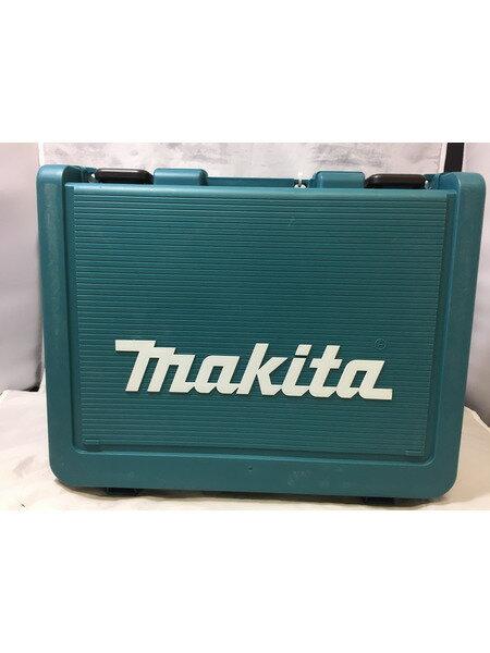 未使用マキタ 充電式震動ドライバドリル 18V6.0Ah バッテリ2個付【中古】