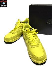 NIKE AIR FORCE 1 GORE-TEX Dynamic Yellow 27.5 CK2630ー70 ナイキ エアフォース 1 ロー ゴアテックス【中古】