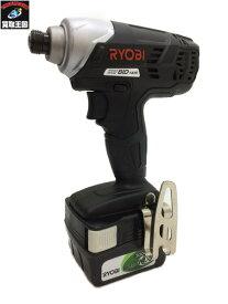 リョービ RYOBI 14.4V充電式インパクトドライバ BID-1416【中古】