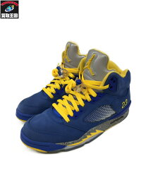 NIKE AIR JORDAN 5 LANEY JSP VARSITY ROYAL 26.0cm CD2720-400【中古】[▼]