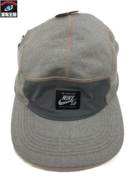 NIKE SB (SIZE/FREE) GREY CAMP CAP【中古】
