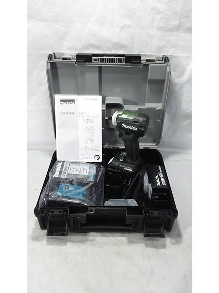 makita 18V充電式インパクトドライバ TD171DGXAG 未使用品【中古】