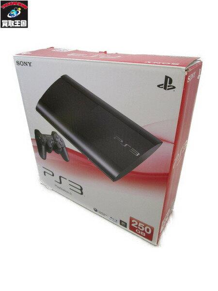 PS3 プレイステーション3 CECH4000B 250GB チャコールブラック【中古】